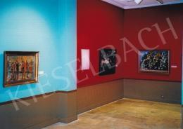 Aba-Novák, Vilmos - István Szőnyi és Vilmos Aba-Novák exhibition, Hungarian National Gallery, Photo: Tamás Kieselbach
