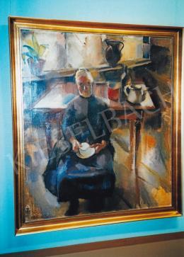 Aba-Novák, Vilmos - Inside the Room,1927, Photo: Tamás Kieselbach