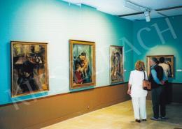 Aba-Novák, Vilmos - Vilmos Aba-Novák exhibition, Hungarian National Gallery, Photo: Tamás Kieselbach