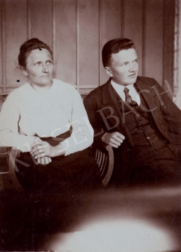 Nagy Károly - Nagy Károly édesanyjával