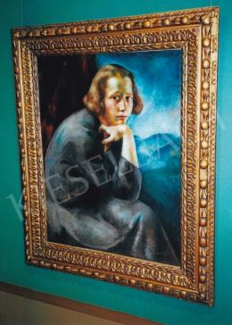 Korb, Erzsébet - Erzsébet Korb: Self-Portrait, Picture: Tamás Kieselbach
