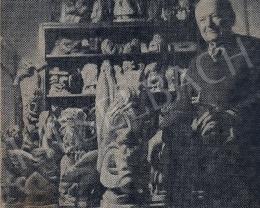 Nagy Károly - A művész szobrokkal