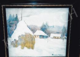 Kádár Géza - Kádár Géza: Nagybányai Tél; Fotó: Kieselbach Tamás