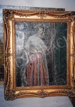 Márk Lajos - Nő tükörben; Fotó: Kieselbach Tamás