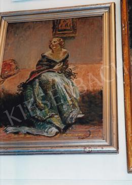 Márk Lajos - Ülő nő; Fotó: Kieselbach Tamás