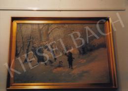 Neogrády, László - Winter Forest; Photo: Tamás Kieselbach