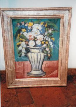 Scheiber, Hugó - Still Life with Flowers; Photo: Tamás Kieselebach
