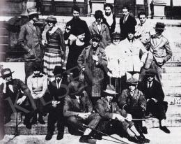 Huszár Vilmos - Huszár Vilmos a weimari konferencia művészei, 1922