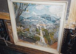 Iványi Grünwald Béla - Iványi Grünwald Béla: Tavasz (Firenzei táj), 1907; Fotó: Kieselbach Tamás