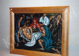 Bortnyik Sándor - Jézus temetése; Fotó: Kieselbach Tamás