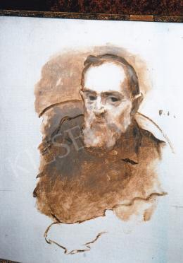 Ferenczy Károly - Férfi Portré; Fotó: Kieselbach Tamás
