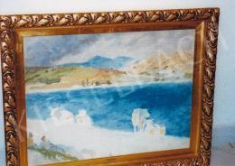 Szőnyi István - Delelés a zebegényi Duna-parton, 1930-as évek vége; Fotó: Kieselbach Tamás