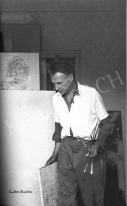 Veszelszky Béla - Veszelszky Béla műterme