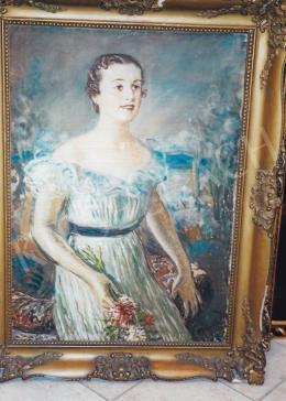 Márk Lajos - Női portré; Fotó: Kieselbach Tamás