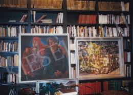 Aba-Novák, Vilmos - Gábor Peterdi és Vilmos Aba-Novák Paintings; Photo: Tamás Kieselbach
