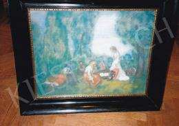 Iványi Grünwald, Béla - In the Open-Air, c. 1905, pastel on paper, Signed lower right: Iványi Grünwald B., Photo: Tamás Kieselbach