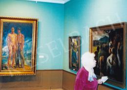 Patkó Károly - Patkó Károly és Szőnyi István kiállítás; Fotó: Kieselbach Tamás