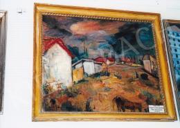 Iványi Grünwald Béla - Iványi Grünwald Béla: Piros tetős házak; Fotó: Kieselbach Tamás