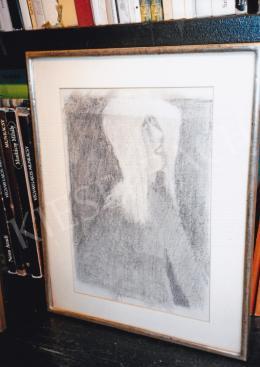 Anna Margit - Női arckép; Fotó: Kieselbach Tamás