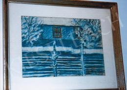 Nagy István - Kék ház; Fotó: Kieselbach Tamás