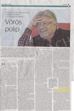 Korga György - Interjú Szőrényi Leventével, megemlíti Korga Györgyöt