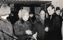 Korga György - Korga György, édesanyja és Bodor Tibor színművész, 1964. február 29.