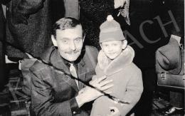 Korga György - Korga György kisfiával
