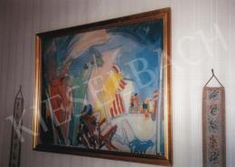Vaszary János - Francia riviéra; olaj, vászon; Jelezve balra fent: Alassio 1913 Vaszary; Fotó: Kieselbach Tamás