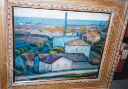Czigány Dezső - Dél-francia táj, 1930 körül, 54x65 cm, olaj, vászon, Jelezve balra lent: Czigány, Fotó: Kieselbach Tamás