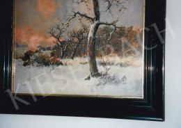 Neogrády, László - Winter Landscape, oil on canvas, Signed lower left: Neogrády László, Photo: Tamás Kieselbach
