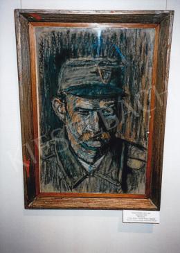 Nagy István - Népfelkelő, 1916, pasztell, papír, Jelezve balra lent: Nagy I. Fotó: Kieselbach Tamás