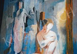 Kádár Béla - Kádár Béla: Art deco nők szobában (fotó: Kieselbach Tamás)
