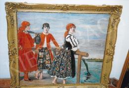 Csók István - Lányok a vízparton (fotó: Kieselbach Tamás)