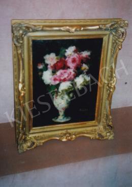 Koszta, József - Flower Still-Life in Vase, 43x32 cm, oil on canvas, Signed lower right: Koszta, Photo: Tamás Kieselbach