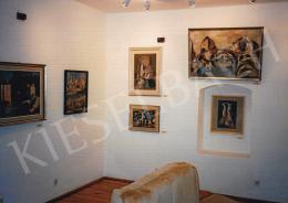 Kádár Béla - Kádár Béla festményei a falakon, Fotó: Kieselbach Tamás