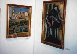 Czigány Dezső - Francia kolostor, 1926-1930 között, olaj, vászon, Jelezve jobbra lent: Czigány, Fotó: Kieselbach Tamás