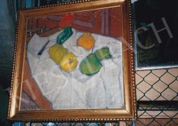Galimberti Sándor - Csendélet, 1907-1909 között, olaj, vászon, Jelezve balra lent: Galimberti, Nógrádi Történeti Múzeum, Salgótarján, Fotó: Kieselbach Tamás