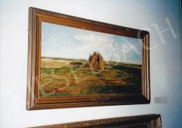 Aggházy Gyula - Tájkép, 1878, olaj, vászon, 36x69,5 cm, Magyar Nemzeti Galéria, Budapest, Fotó: Kieselbach Tamás