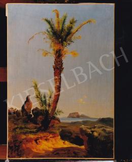 Ligeti Antal - Pálma, 1847 körül, 53x37 cm, olaj, vászon, Jelzés nélkül, Fotó: Kieselbach Tamás