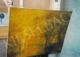 Mednyánszky László - Lidércfények teliholdnál. 80.5x101 cm, olaj, vászon, jelezve jobbra lent: Mednyánszky (fotó: Kieselbach Tamás)