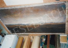 Mednyánszky László - Havas csúcsok. 109.5x180.5 cm, olaj, vászon, jelezve jobbra lent: Mednyánszky (fotó: Kieselbach Tamás)