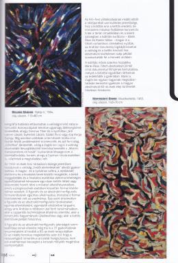 Molnár Sándor - Kaszás Gábor: Tiltott absztraktok című cikke az ÚjMűvészetben Molnár Sándor festményének képével