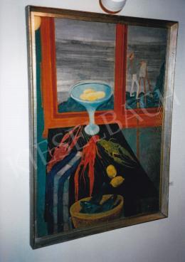 Paizs-Goebel Jenő - Rákos csendélet, 1931, olaj, vászon, Magyar Nemzeti Galéria, Fotó: Kieselbach Tamás
