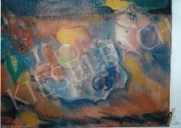 Márffy Ödön - Gyümölcs csendélet; olaj, vászon; Jelezve balra lent: Márffy Ödön; Fotó: Kieselbach Tamás