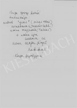 Korga György - Korga György festési technikája