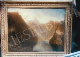 Brodszky, Sándor - Narrows; oil on canvas; Signed lower left: Brodszky, Műterem 1853; Photo: Kieselbach Tamás