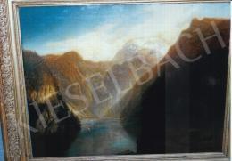 Brodszky, Sándor - Narrows; oil on canvas; Photo: Kieselbach Tamás