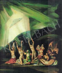 Mund Hugó - Vágyódás; 65x61 cm; olaj, vászon; Jelezve balra lent: Mund; Fotó: MNG