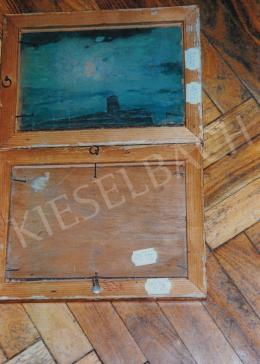 Vaszary, János - Lake Balaton, c. 1905; oil on wooden panel; Unsigned; Photo: Kieselbach Tamás