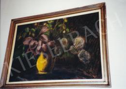Nagy István - Virágcsendélet; pasztell, papír; Jelezve jobbra lent; Fotó: Kieselbach Tamás
